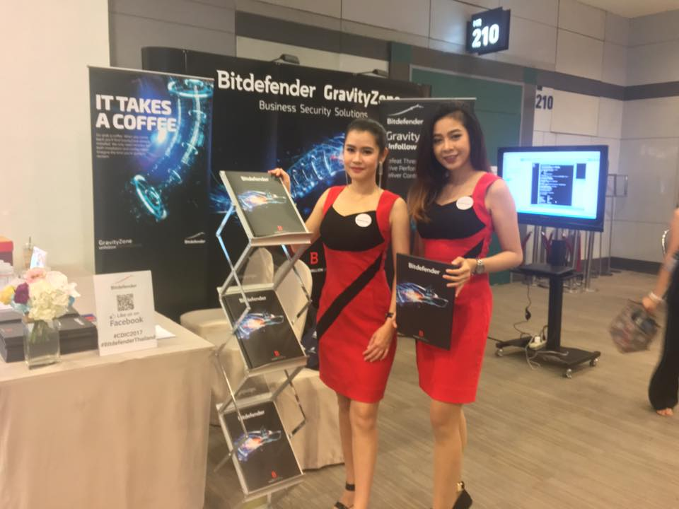 Bitdefender Thailand Joined to CDIC2017 Conference on Nov 14-15,2017
