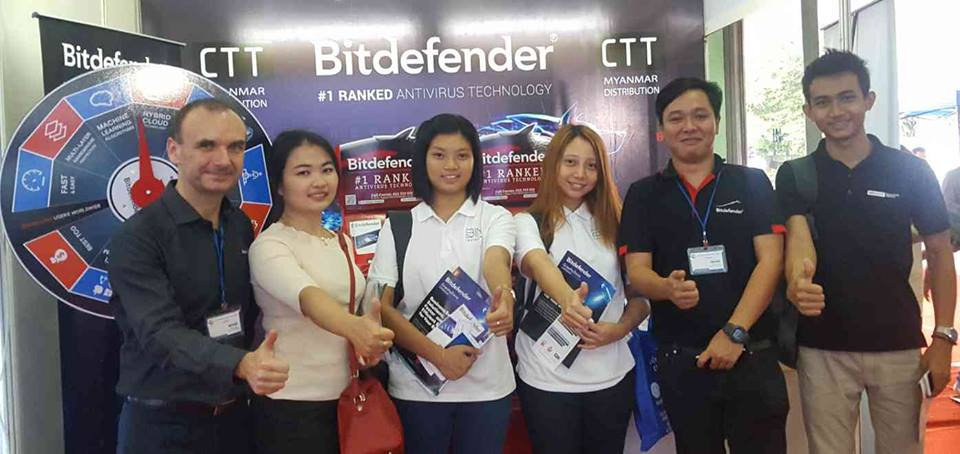 Bitdfender join the informative seminar at ICT Development Expo