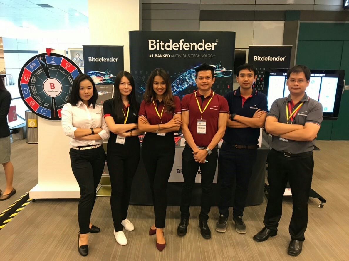 Bitdefender Thailand Exhibits at CDIC 2018