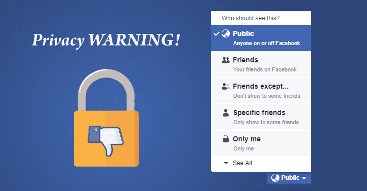 Facebook bug changed 14 million users' default privacy settings to public