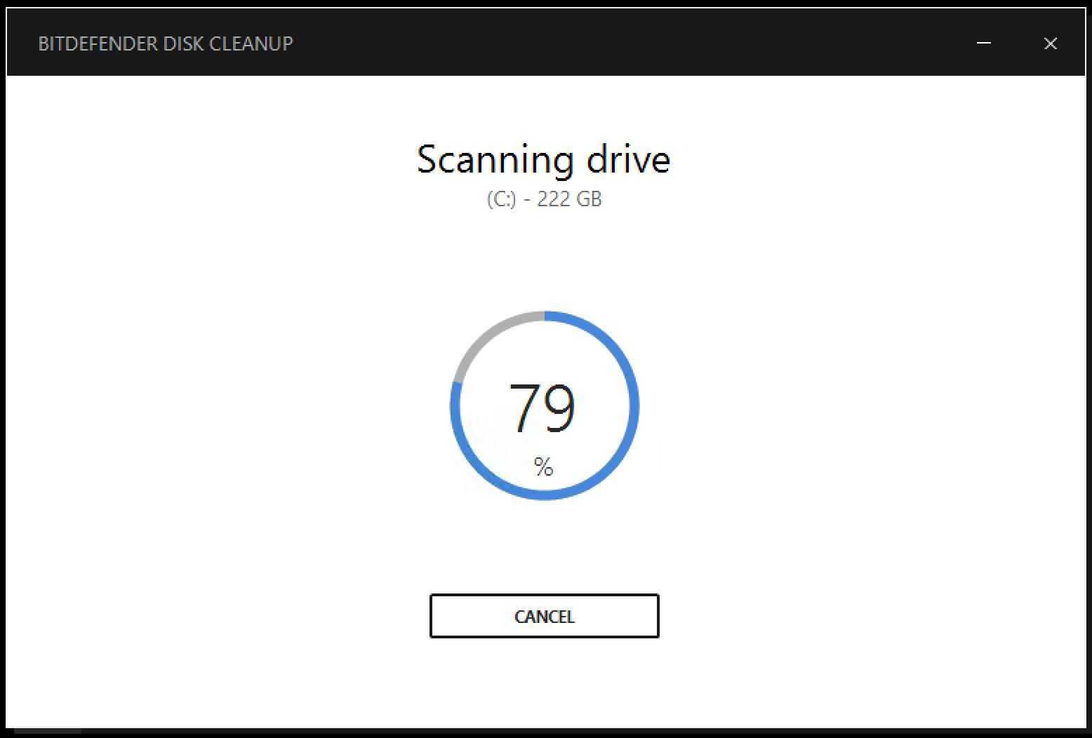 วิธีเพิ่มประสิทธิภาพพื้นที่ฮาร์ดดิสก์โดยใช้ Disk Cleanup ใน Bitdefender 2017