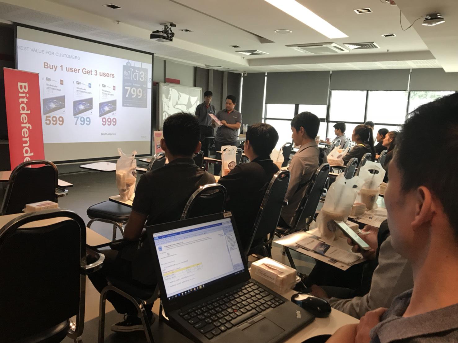 Bitdefender training with SIS on September 2018