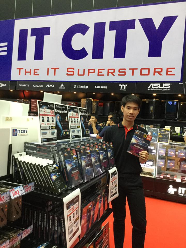 Bitdefender (Thailand) at CE Fair 2017 with IT City Thailand, August 18-27, Bangkok