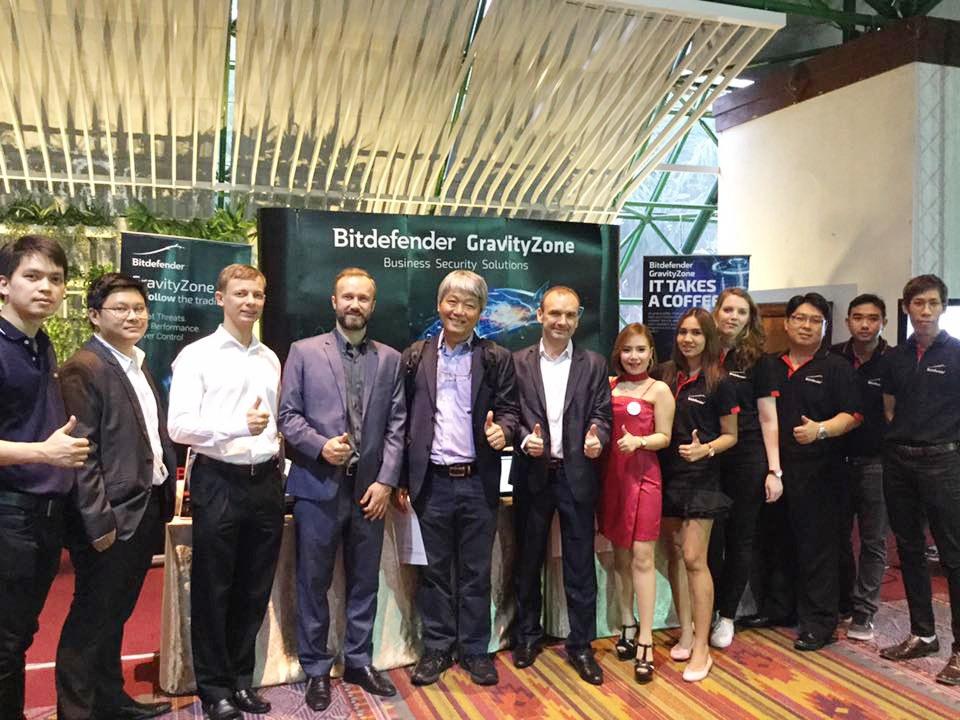 บิทดีเฟนเดอร์ ไทยแลนด์ ร่วมเป็นสปอนเซอร์ในงาน SiS Technology Show Case Technology เมื่อ 22 ส.ค. 2560